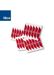 Strisce rosse adesive catarifrangenti Nice WA10