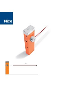 Sistema alzabarriera elettromeccanico per aste di 4 m Nice SBAR