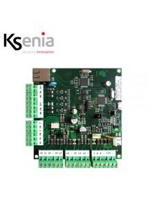 Scheda madre di centrale lares16-IP con inclusa interfaccia Ethernet