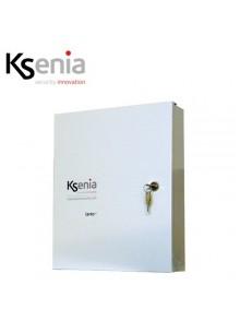 Solo contenitore metallico bianco Ksenia 255x295x85mm
